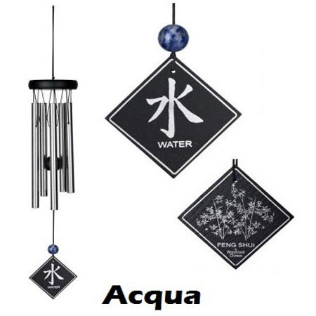 wind chime elemento acqua 40 cm (WOODSTOCK CHIMES ORIGINALE)