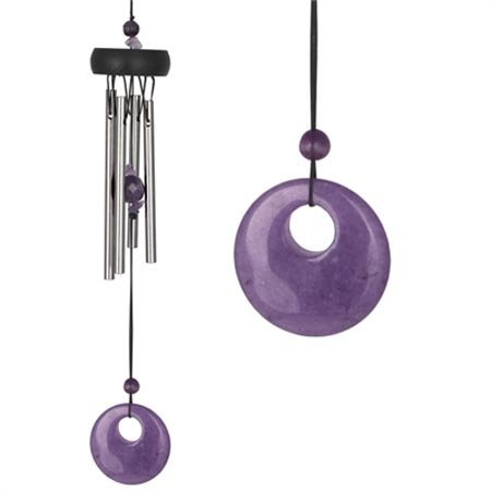 wind chime ametista 24 cm (WOODSTOCK CHIMES ORIGINALE)