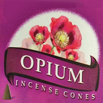 10 coni d'incenso aroma Opium